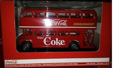 Coca-Cola Routemaster London Double Deck Bus Diecast 1:64 Motor City 5 in 464001
