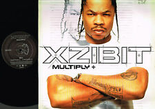"XZIBIT Multiply 12"" PROMO VINYL Man VS. Machine DR. DRE EPIC UK 2002 XPR3610 Exl"