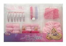 Disney Tangled Hair Accessories set in plastic case New