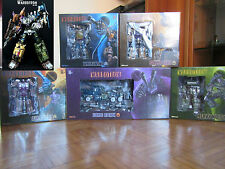 TRANSFORMERS 3RD PARTY WARBOTRON WB-01 AKA BRUTICUS SET 5 DI 5 COMPLETO NUOVO!!!