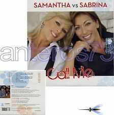 "SAMANTHA FOX SABRINA SALERNO ""CALL ME""CDsingle CARD MADE IN ITALY"