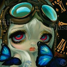 Faces of Faery 217 Jasmine Becket-Griffith art CANVAS PRINT steampunk butterfly