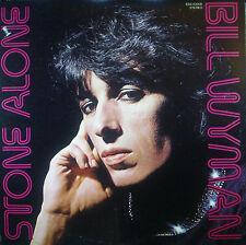 LP BILL WYMAN - stone alone, nm, Importado de Japón