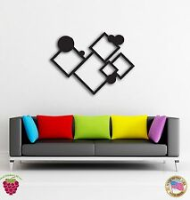 Wall Sticker Abstract Modern Geometrical Decor For Your Cool Place z1457