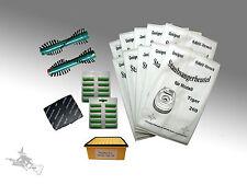 XXL Set 44tlg Micro Vlies Filtertüten Filter Bürsten 360 passend für Tiger 260