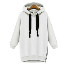 New Womens Oversized Hoodie Baggy Jumper Hooded Sweater Sweatshirt Coat Pullover