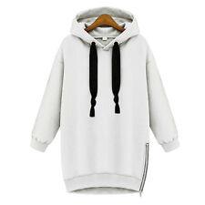 New Womens Hoodie Sweatshirt Ladies Casual Hooded Coat Pullover Baggy Jumper Top
