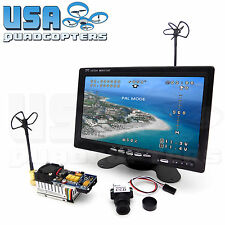 5.8GHz FPV System Ultra HD 1000TVL Camera, Monitor, 2000mW Video Transmitter Kit