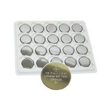 20pcs 3V CR2430 DL2430 BR2430 5011C ECR2430 Lithium Button Coin Cell Battery