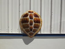 "32"" Hawksbill Turtle Shell Fiberglass Half Mount Fish Replica Taxidermy"
