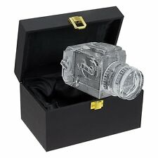 Hasselblad Camera Crystal Replica Lens Photo Bookend Shelf Window Decor Gift