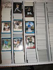2003 Bowman Draft, Gold,Chrome, Ref Baseball  Large Lot Approximately 507 Cards