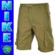 Nike Men's Size 34 Woven Performance Cargo Short Beige 613644 NWT