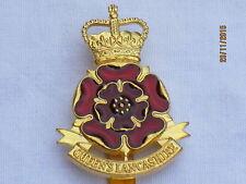 The Queens Lancashire Regiment, farbig emailliert, britisch