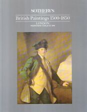 N61 Sotheby's British Paintings 1500 - 1800 London
