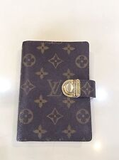 LOUIS VUITTON Monogram Agenda Notebook Schedule Book Day Planner