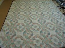 Nice Whole Cloth China Plate Pattern Quilt