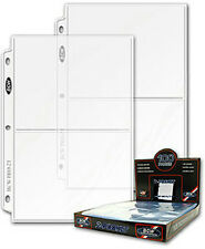 10 BCW 2 Pocket 5 x 7 Binder Pages
