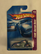SCORCHIN' SCOOTER - 2007 Blue Hot Wheels Die Cast Motorcycle  - Mint on Card