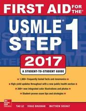 NEW - First Aid for Step 1 2017 by Tao Le and Vikas Bhushan (E-Book)