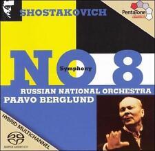 Shostakovich: Symphony No. 8 ~ Berglund, SHOSTAKOVICH, Good Hybrid SACD - DSD