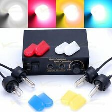 4 LED Car Truck Bulbs Flashing Lamp Strobe Kit Lightbar Light Headlights 12V 5W