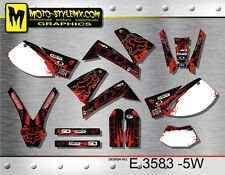 KTM SXC 625 LC4 graphics decals kit Moto StyleMX