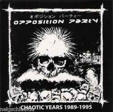 OPPOSITION PARTY – CHAOTIC YEARS 1989-95 CD