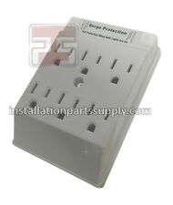 Cooper 1177CG 15A 125V 5-15R 2P 3W 6-Outlet Adapter Surge Protector Receptacle