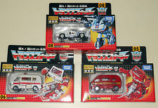 Transformers Takara G1 Encore IRONHIDE, RATCHET, MEISTER JAZZ, FREE SHIPPING