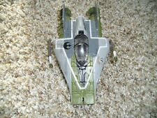 Star Wars Micro Machines LFL Rebel A-Wing Action Fleet Galoob Ship A Wing Green