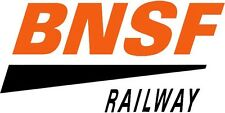 NEW PEEL AND STICK BNSF RAILWAY DECAL 1.5 X 3