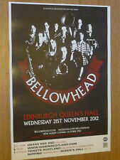 Bellowhead Edinburgh 2012 concert tour gig poster