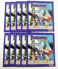 Lot of (10) 1991 Panini Disney's Darkwing Duck Sticker Album ^ No Stickers