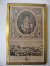 Napoléon Bonaparte - Bataille d'Austerlitz gravure d'après Duplessi-Bertaux XIXe