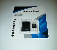 NEW 64GB microSD SD XC Flash TF Memory Card Class 10 Micro SD Free SD Adapter