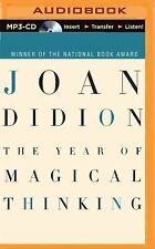 The Year of Magical Thinking by Joan Didion (2015, MP3 CD, Unabridged)