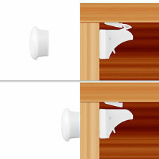 10pcs Magnetic Baby Child Kids Proof Cupboard Cabinet Drawer Door Safety Lock