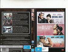 Desk Set-1957-Spencer Tracy/Peyton Place/Kiss Them For Me[3 Disc]-3 Movie-DVD