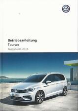 VW Touran 2 manual de instrucciones de 2016 manual de instrucciones conductor-manual ba