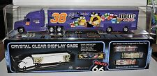 ACRYLIC CRYSTAL CLEAR DISPLAY CASE FOR 1:64 SCALE TEAM HAULERS/TRAILER RIGS
