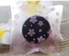 20x Japanese Sakura Self Adhesive Bags Cookies Lolly Cherry Blossom Flower