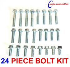 OEM TYPE FLANGE HEAD 8mm M6 24 PIECE BOLT PACK FOR YAMAHA YZF250 YZF450 2011