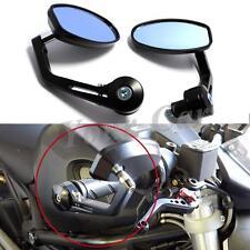 Pair 7/8″ 22MM UNIVERSAL MOTORCYCLE BIKE HANDLE BAR END REARVIEW SIDE MIRRORS UK