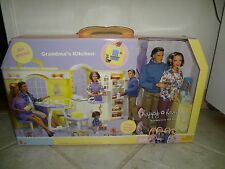 BARBIE HAPPY FAMILY GRANDMA'S KITCHEN  GIFTSET DOLL NRFB  LIMITED EDITION