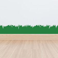 Grass plinthes 3 mètres Wall Sticker Autocollant Vinyle Frontière Décoration Art Jungle