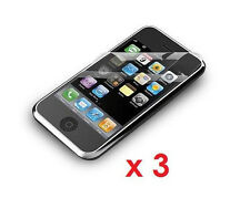 3 x New Crystal Clear Screen Protector for Apple iPhone 3G/3GS