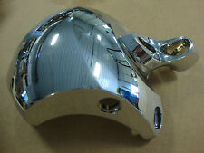 BIG DOG CHROME COIL COVER WITH CAMEL TOE MOUNT 2005-MODELS NO LOGO
