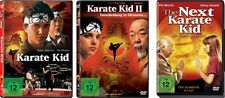 3 DVDs * KARATE KID 1 + 2 + THE NEXT KARATE KID   IM SET  # NEU OVP