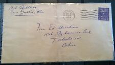 Eau Gallie, Florida FL Cover - DPO – Dec 12, 1954 - FL Postal History